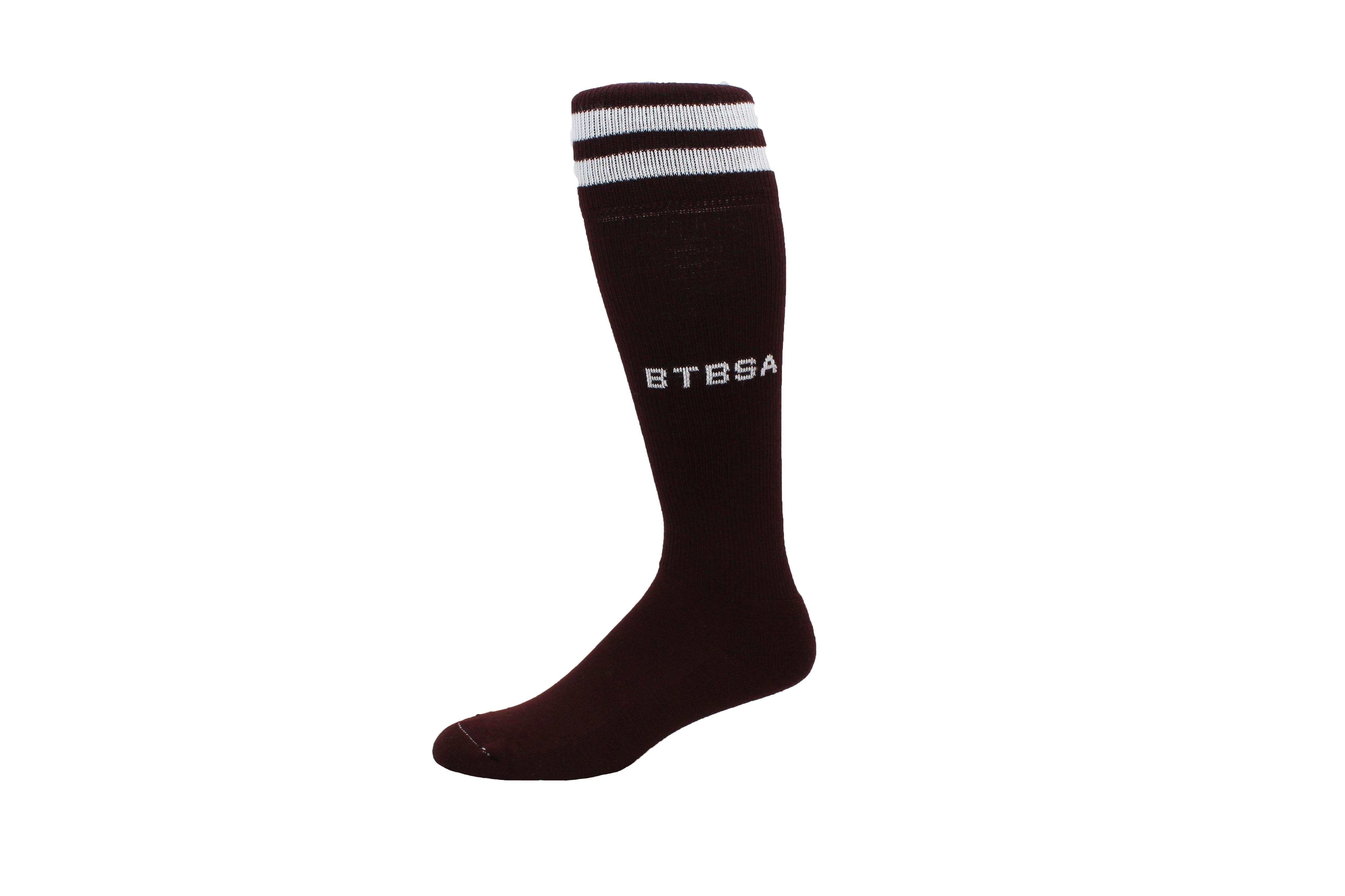 rugby_custom rugby 2 stripe sock